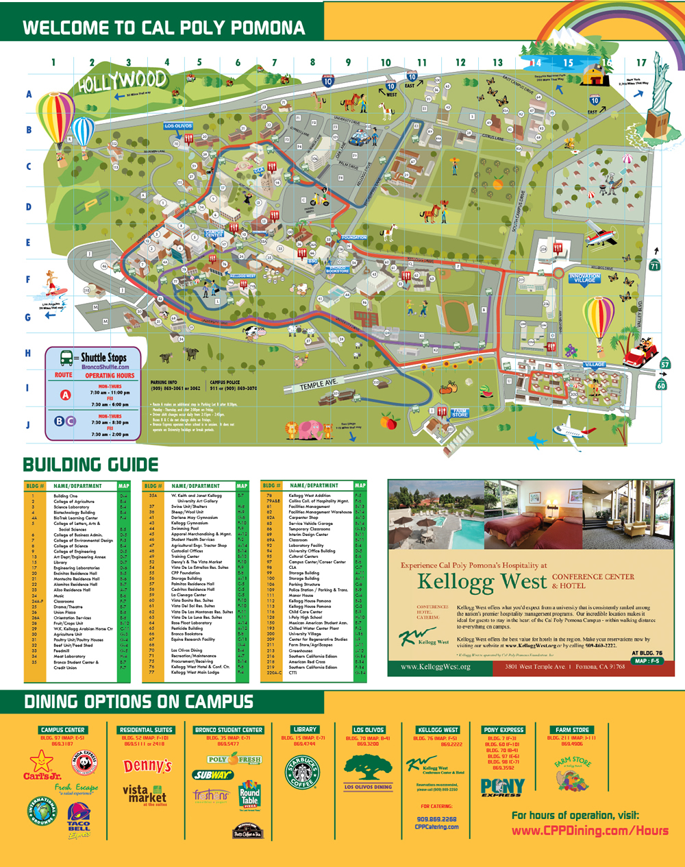 Cpp Campus Map Cpp Campus Map | States Maps