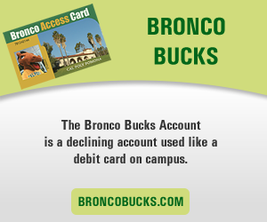Bronco Bucks Account